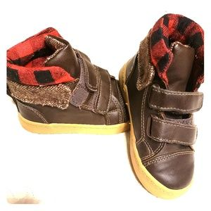 Gap Toddler Boys Buffalo Plaid Boots